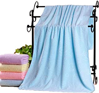 Gijoki Soft Superfine Fiber Bath Towel Quick-Drying Strong Absorbent Towel Bath Sheets