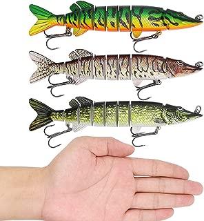XFISHMAN Northern-Pike-Lures-Multi-Jointed-Swimbaits-Fishing-Lure 5