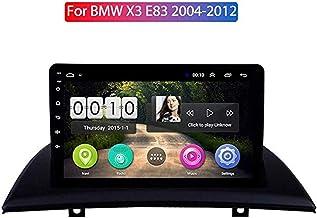 Android 8.1 para BMW X3 E83 2.0i 2.5i 2.5si 3.0i 3.0si 2.0d 3.0d 2004-2012 Multimedia Estéreo Coche Reproductor de DVD Navegación GPS Radio, Control del Volante