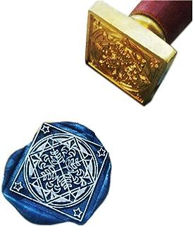 Timbre de sceau de cire vintage, Sceau de cire Seigneur des anneaux Hobbit Symbole sceau Collection Thranduil Badge Souvenirs