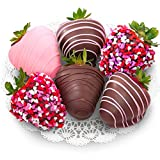 Golden State Fruit 6 Love Berries Chocolate Covered Strawberries