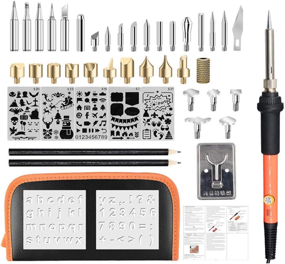 MOHANBTO Soldering Iron Wood SALENEW very popular! Burning Direct store PCS Kit Professional Py 42