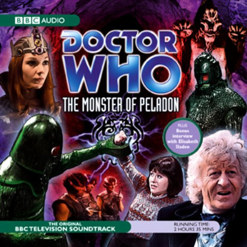 Doctor Who: The Monster of Peladon (Dramatised) audiobook cover art
