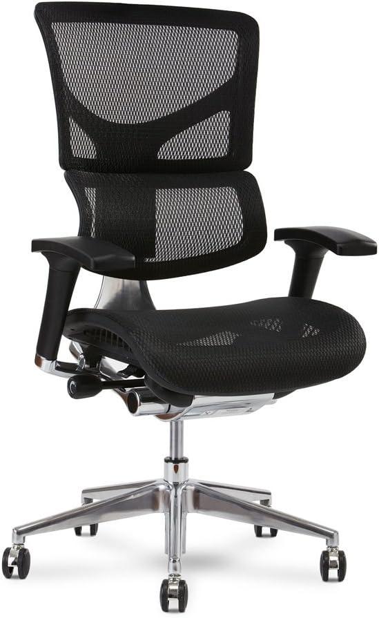 X Chair X2 Executive Task Chair, Black K-Sport Mesh