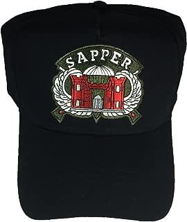 U.S. ARMY ENGINEER SAPPER HAT - BLACK - Veteran Owned Business