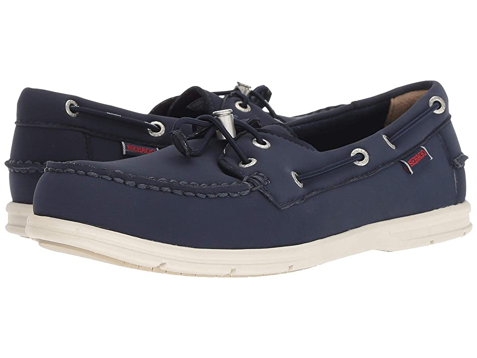 Sebago Litesides Two-Eye Ariaprene (Navy Ariaprene) Men