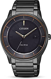 CITIZEN Mens Solar Powered Watch, Analog Display and Stainless Steel Strap - BM7407-81H