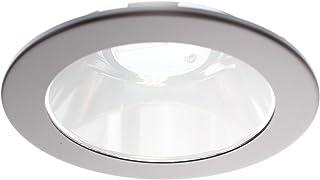 "White Elco EL1495W 4/"" Bi Pin Adjustable Wall Wash Trim"