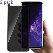 [2 Pack] Galaxy Note 8 Privacy Screen Protector, GPROVA [Anti Spy][Anti-Glare][Anti-Fingerprint][Anti-Scratch] No Bubble Ballistic Tempered Glass HD 3D Curve Edge Screen Protector