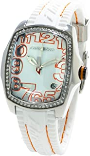 Chronotech Womens Analogue Quartz Watch with Rubber Strap CT7016LS-09
