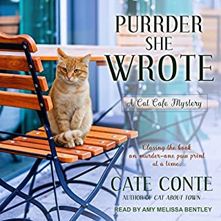 Purrder She Wrote audiobook cover art