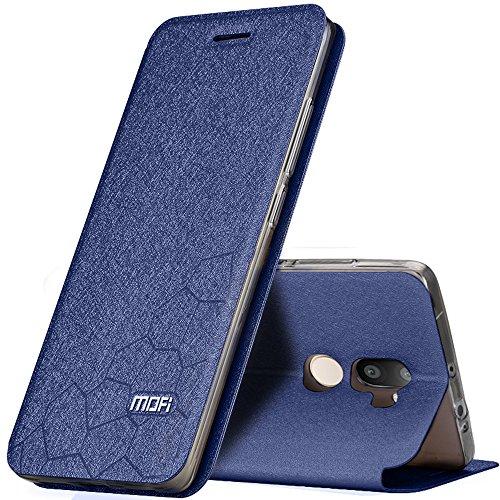 Stile di Calcio PU Pelle Custodia Flip Case TPU Silicone Posteriore Back Cover + Pellicola Protettiva Per Xiaomi Mi 5s Plus Vooway