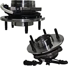 4x4 w/12MM LUGS Brand New (Both) Front Wheel Hub and Bearing Assembly 1997-00 Ford F-150 4x4 5 Lug w/ABS 12mm Wheel Lugs