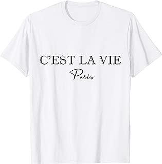 C'est La Vie White Tshirt Women
