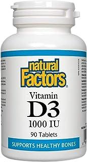 Natural Factors Vitamin D3 1000iu, 90 Tablets