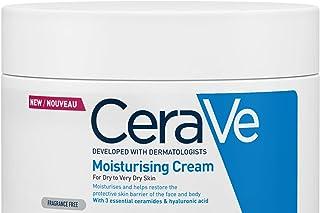CeraVe Fuktkräm för torr till mycket torr hud, med 3 essentiella ceramider och hyaluron 340 g