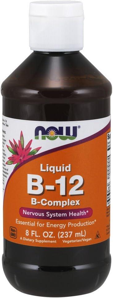 NOW Supplements Vitamin B-12 Energy Complex Max 65% OFF Sales results No. 1 Liquid Production