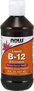 Now Supplements, Vitamin B-12 Complex Liquid, 8-Ounce
