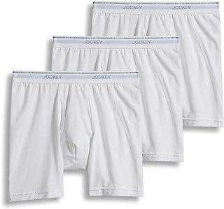 Jockey Men's Underwear MaxStretch Midway Brief - 3 Pack