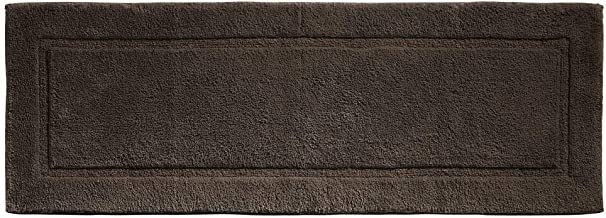 mDesign Soft 100% Cotton Luxury Hotel-Style Rectangular Spa Mat Rug, Plush Water Absorbent, Decorative Border for Bathroom...