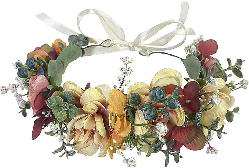 Handmade Flower Headband for Photo Popular [Alternative dealer] brand Floral Props Parties Hairband