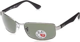 RB3478 Polarized Rectangular Sunglasses,...