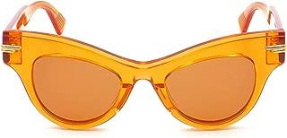 Luxury Fashion | Bottega Veneta Womens BV1004S003 Orange Sunglasses | Spring Summer 19