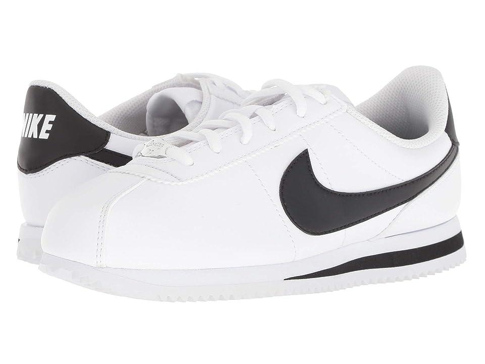 Nike Kids Cortez Basic SL (Big Kid) (White/Black) Kids Shoes