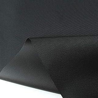 TOLKO wasserfest beschichteter Nylon Stoff | fester Segeltuch Planenstoff als Nylonplane für Aussenbereich | Reißfest und Langlebig | Meterware 150cm breit schwerer Outdoorstoff Schwarz