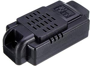 Accesorios y suministros electrónicos de JJBHD 50 unids Negro 60 * 30 * 18 mm Tipo de pared de pared y humedad Sensor de humedad Humo Sense Sense Sense Housing Para proporcionarle la calidad de excele