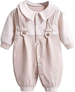 LOOLY Unisex Baby Boys Girls Dot Romper Jumpsuit Long Sleeve One-Piece Coverall