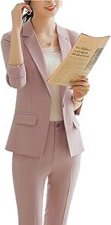 レディ-ス ビジネス パンツ スーツ パンツ 2点セット フォーマル ジャケット 事務服 通勤 結婚式 入学式 卒業式