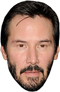 Keanu Reeves Celebrity Mask, Card Face and Fancy Dress Mask