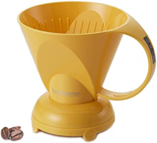 Clever Coffee Dripper Coffee Maker Safe BPA Free Plastic Hassle-Free Ways Make Manual Pour Over Coffee & Cold Brew, 18 Fl Oz.