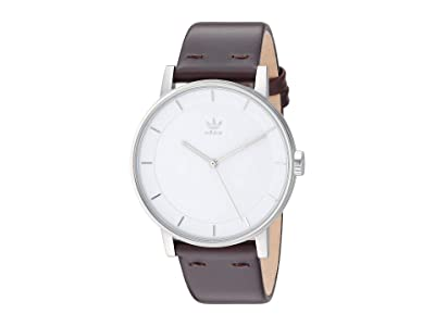 adidas District_L1 (Silver/Brown) Watches