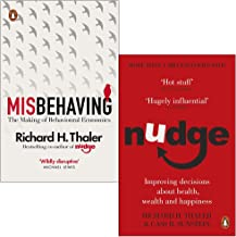 Richard H Thaler Collection 2 Books Set (Misbehaving The Making of Behavioural Economics, Nudge Improving Decisions About ...
