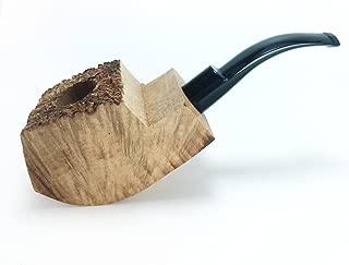 Tobacco Pipe Mediterranean Briar Wood Block - Semi-Finished Tobacco Pipe -Style 9