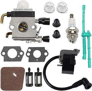 Mckin C1Q-S97 FS55R Carburetor Coil Tune Up Kit fits Stihl FS38 FS45 FS45C FS46 FS46C FS55 FS55RC FS55C Trimmer Weed Eater Replace # C1Q-S186 C1Q-S71 C1Q-S66