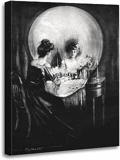 TORASS Canvas Wall Art Print Charles C Allan Gilbert All Vanity Skull Artwork for Home Decor 16