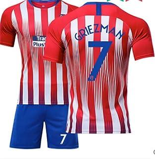 LISIMKE Atletico Madrid 2018-2019 Home Mens Griezmann #7 Socce Jersey