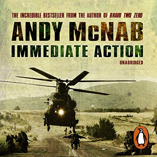 Immediate Action audiobook cover art