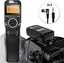Pixel TW-283 DC0 Wireless Shutter Release Cable Remote Control Controller for Nikon Digital SLR Cameras D800 D810 1D 2D D700 D500 D200 D4 D5 N90s F5 F6 F100 F90 F90X D3s