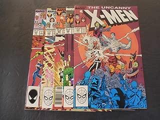 5 Iss X-Men #225-229 Jan-May 1988 Copper Age Marvel Comics