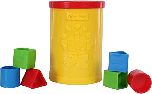 Fisher-Price Original Baby's First Blocks, to sort, stack and drop!