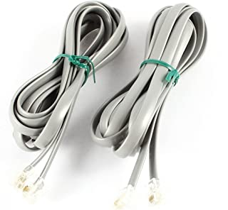 Cable telef/ónico de 2 pares tierra Gris Mt 25 electroline 14007