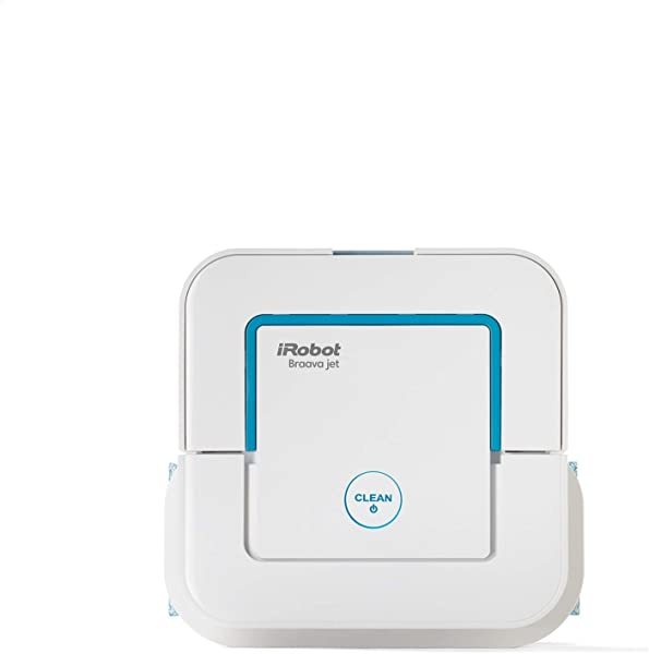IRobot Braava Jet 240 Superior Robot Mop App Enabled Precision Jet Spray Vibrating Cleaning Head Wet And Damp Mopping Dry Sweeping Modes
