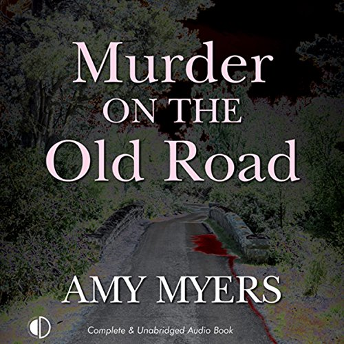 Murder on the Old Road audiobook cover art