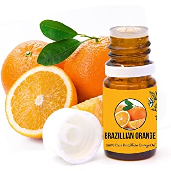 Aromazotika 15ml Sweet Orange Essential Oil Pure, Natural & Undiluted - Therapeutic Grade for Skin, Hair, Body, Face and Good Vibes