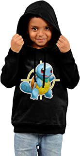 Squirtle Pokemon Mystery Dungeon Explorers Of Sky Comfy Soft Cotton Hooded Sweater For Toddler Kid