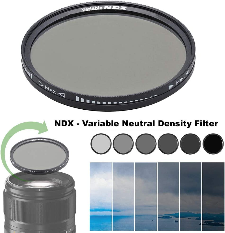 82mm All items in the store NDX Variable Neutral Louisville-Jefferson County Mall Density Camera E for Filter Canon Lens